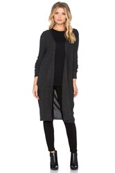 Charli California Cardigan Charcoal