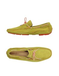 Gold Brothers Loafers Acid Green