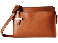 Lodis Stephanie Rfid Under Lock Key Trisha Double Zip Wallet On A String Chestnut Wallet Handbags Brown