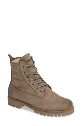 Blackstone Ol22 Lace Up Boot With Genuine Shearling Lining Fungi Leather