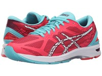 Asics Gel Ds Trainer 21 Diva Pink White Turquoise Women's Running Shoes
