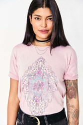 Truly Madly Deeply Tapestry Tee Mauve
