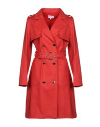 Courreges Overcoats Red