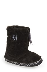 Women's Bedroom Athletics 'Marilyn' Faux Fur Slipper Boot Charcoal