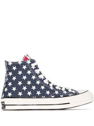 Converse Chuck Taylor 70Mm Remix Flag Print High Top Sneakers White