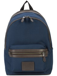 Coach Academy Cordura Backpack Blue