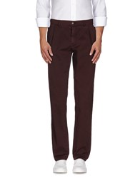 Societe Anonyme Trousers Casual Trousers Men Maroon