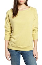 Gibson Slouch Sweatshirt Lime Yellow A S