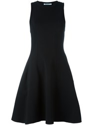 Alexander Wang T By Racerback Flared Dress Black