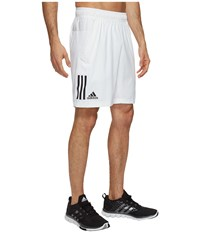 Adidas Club Shorts White Black 1 Men's Shorts