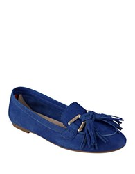 Tommy Hilfiger Hadrian Suede Loafers Blue