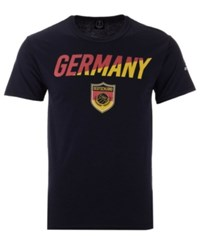Fifth Sun Germany National Team Gym Wedge World Cup T Shirt Black Red Yellow