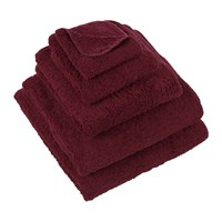 Abyss And Habidecor Super Pile Egyptian Cotton Towel 520 Red