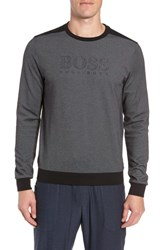 Boss Crewneck Sweatshirt Black