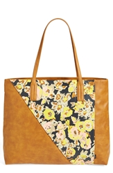 Volcom 'Staycation' Tote Juniors Brown