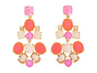 Kate Spade Chandelier Earrings Pink Multi Earring