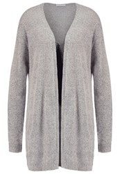 Jdyhazel Cardigan Light Grey Melange Mottled Light Grey
