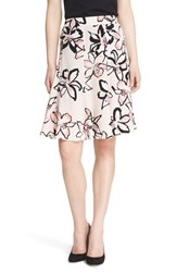 Women's Kate Spade New York 'Tiger Lily' Floral Print Skirt