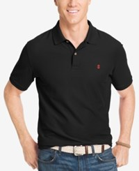 Izod Performance Advantage Pique Polo Black
