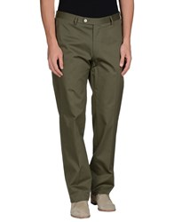 Vigano' Trousers Casual Trousers Men Military Green