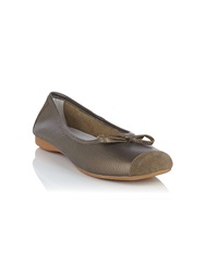 Dash Ballet Pump Brown
