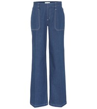 Chloe Flared Jeans Blue