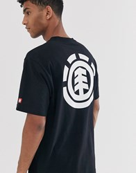 Element Primo Icon T Shirt In Black