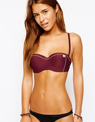 Huit Bandeau Bikini Top Sequoiared