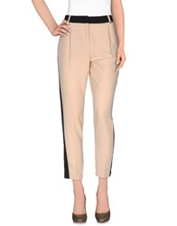 Angelo Marani Trousers Casual Trousers Women Beige