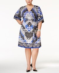 Inc International Concepts Plus Size Kimono Sleeve Wrap Dress Only At Macy's Darling Lace