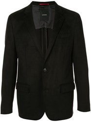Loveless Stitching Detail Blazer Black