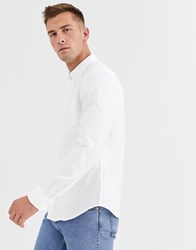 Ben Sherman Slim Fit Oxford Shirt White