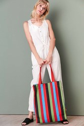 Urban Outfitters Alison Striped Tote Bag Multi