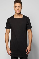 Boohoo T Shirt With Square Neck Black