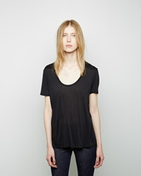 The Row Sabeen Top Black
