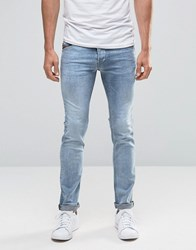 Diesel Belther Slim Jeans 854Y Light Wash Light Wash Blue