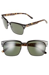 Tom Ford Women's 'River' 57Mm Clubmaster Sunglasses