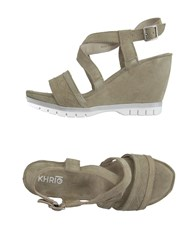 Khrio' Footwear Sandals Women Beige