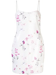 Likely Reese Floral Mini Dress White