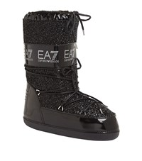 Armani Ea7 Apres Ski Moon Boots Female Black