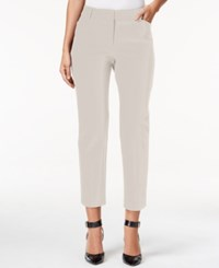 Charter Club Bistretch Slim Crop Pants Only At Macy's Sand