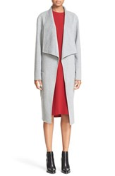 Joseph Women's 'New Live' Double Face Wool And Cashmere Wrap Coat Marble