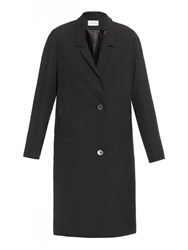 Christophe Lemaire Woven Wool Single Breasted Coat