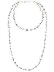 Ca And Lou Victoria Double Necklace Crystal