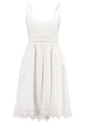 Khujo Kira Summer Dress Off White Off White