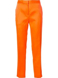 Maison Rabih Kayrouz Tailored Trousers Yellow Orange
