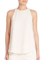 Polo Ralph Lauren Crepe Tank Top Oyster Bay