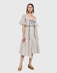 Farrow Mora Dress In Multi Stripe