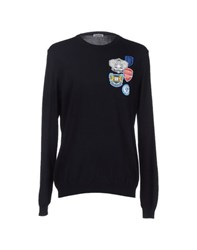 Bikkembergs Knitwear Jumpers Men Dark Blue
