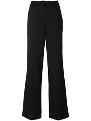 Paul Smith Ps By Flared Leg Trousers Black